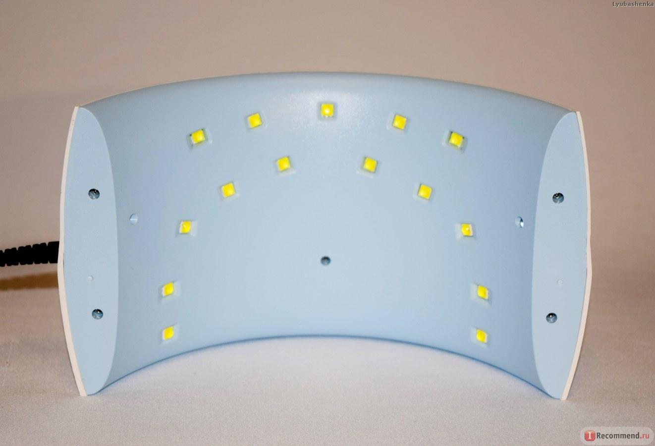 Лед лампа сан 9с для маникюра