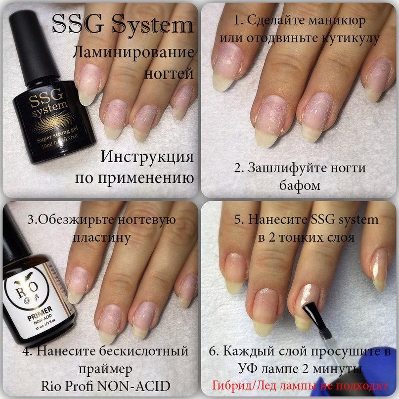 Что такое ламинация ногтей